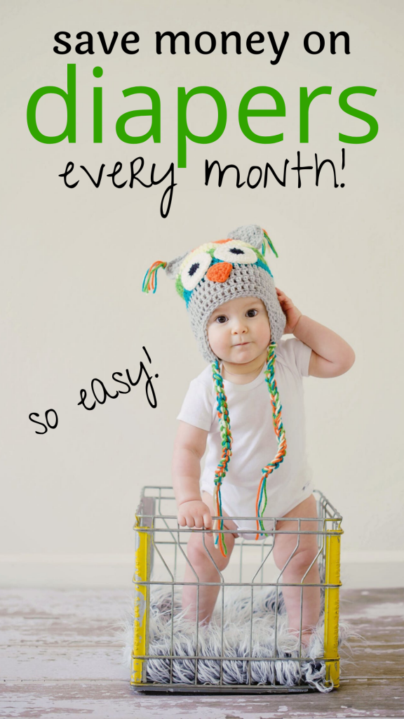 Save money on diapers with Amazon Subscribe and Save