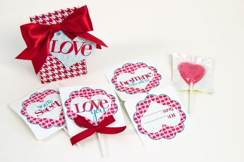 Valentines Day Printable Treat Cards [Janna Wilson]