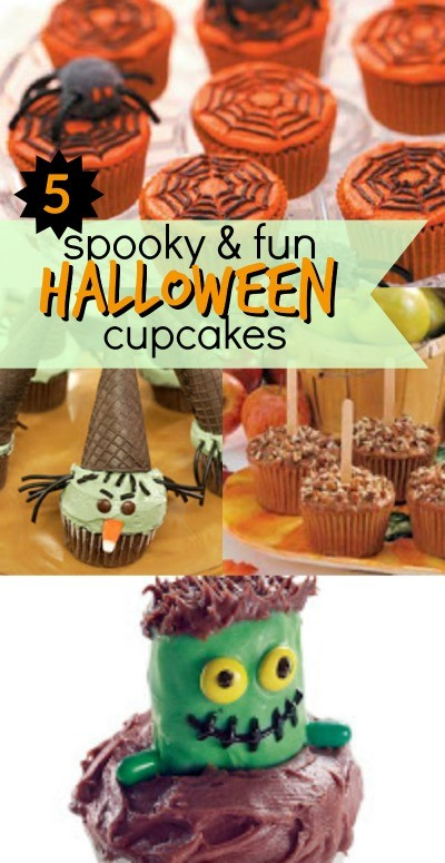 5 spooky and fun halloween cupcakes recipes and ideas