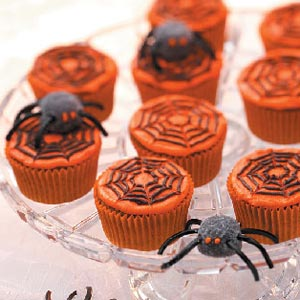 5 cute and spooky halloween cupcakes recipes ideas for How to make halloween cupcakes from scratch