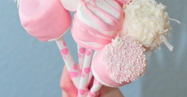 Decorated Marshmallow Pops Bouquet
