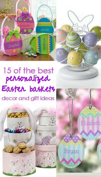 15 of the best personalized easter baskets and gift ideas 15 of the best personalized easter baskets home decor and gift ideas negle Image collections