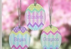 personalized suncatcher Easter eggs