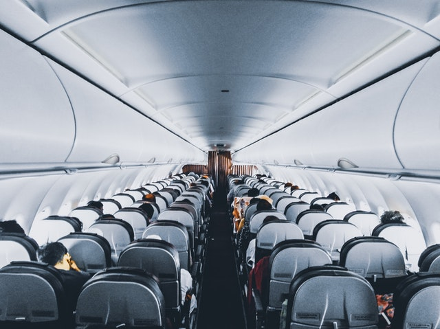 Seats inside of airplane - tips for long haul flights