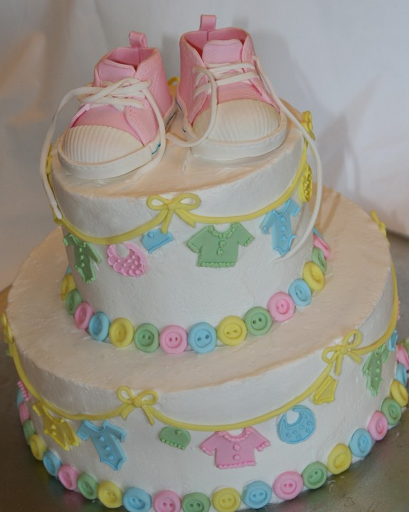 baby shower cake girl