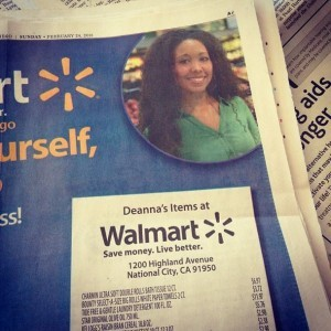 mommyGAGA Walmart shopping challenge, San Diego
