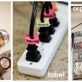 store label organize home organization tips