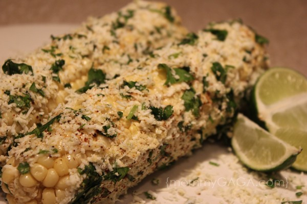 Roasted Chile Lime Corn on the Cob Recipe - Honey + Lime