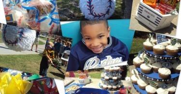 San Diego Padres Baseball Birthday Party