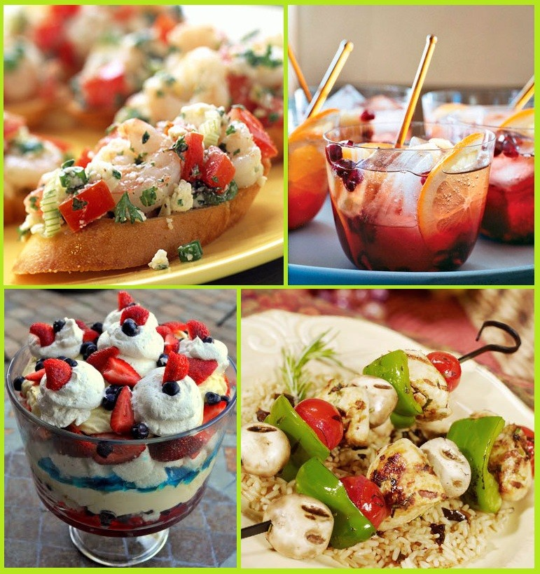 Summer Party Recipes and Food Ideas