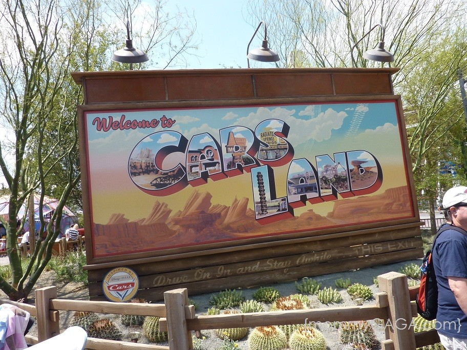 Disney Cars Land mommyGAGA