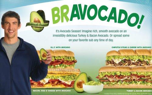 Subway Avocados