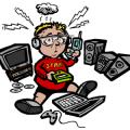 Kid Technology Overload