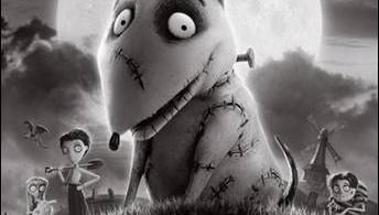 Disney Tim Burton Frankenweenie Movie