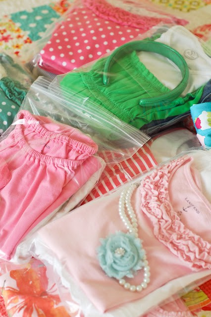 Pack Childrens Clothes for Traveling