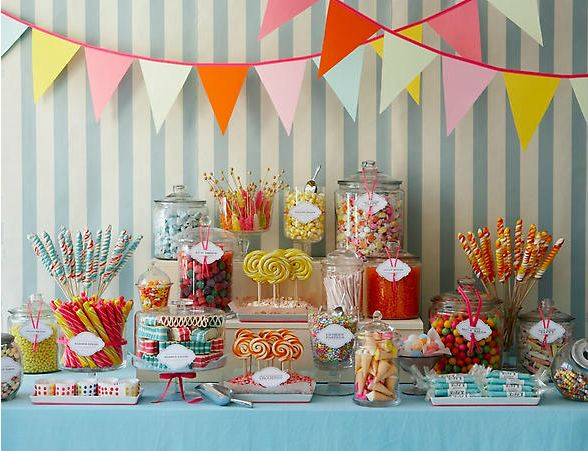 the best candy buffet ideas for your next party, Baby shower
