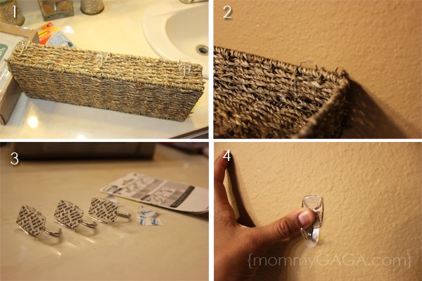 DIY Bathroom Ideas: Floating Wall Decor and Kleenex Hand Towels ...