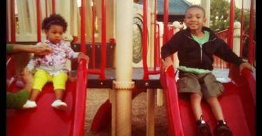 mommyGAGA Kids at the Park Slide