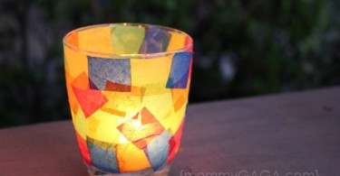 Night Light Candle Craft