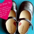 Preschool Shoe Sticker Tip for Kids