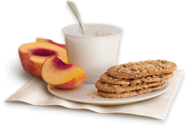 belVita, yogurt and fruit