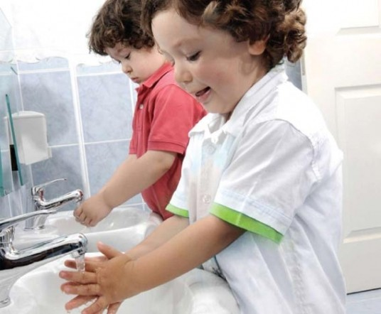 Personal Hygiene for Kids at School: Healthy Children Are ... Kids Washing Hands