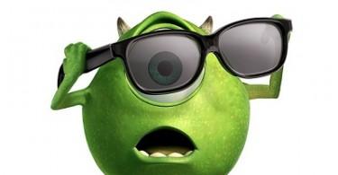 Disney Pixar Monsters Inc 3D Poster