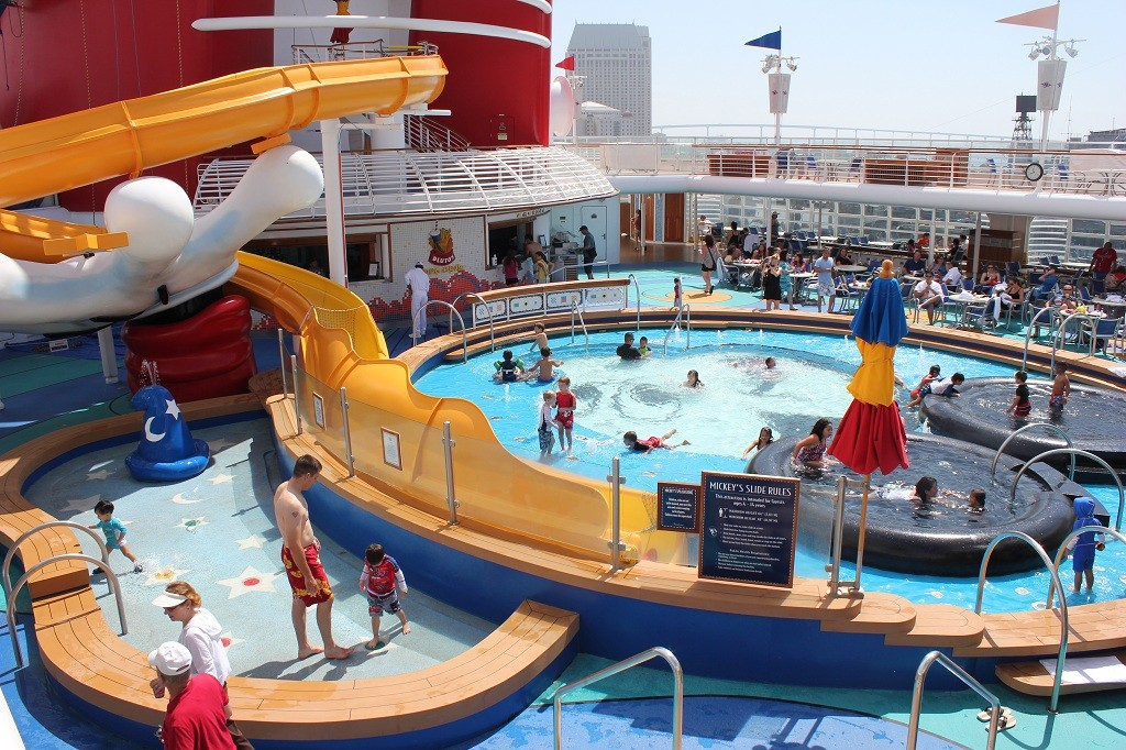 Disney Wonder Kids Mickey Pool with Waterslide