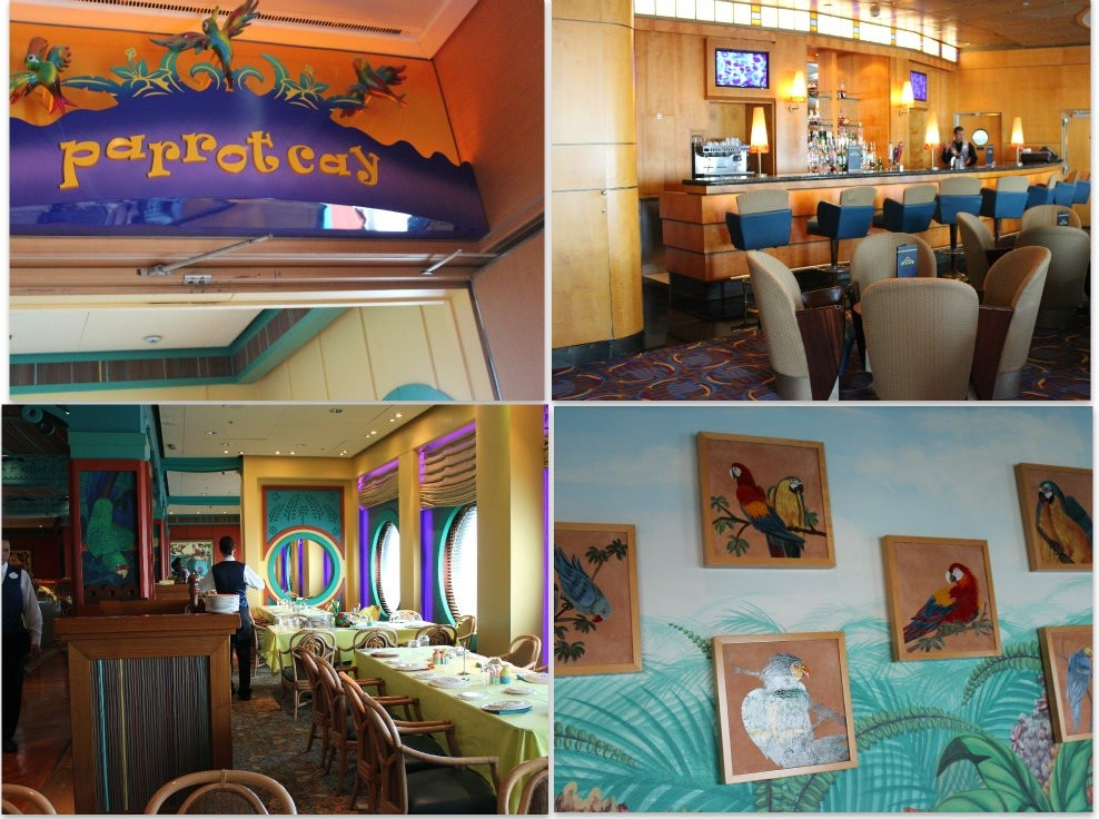 Parrot Cay, a fun, colorful dining experience