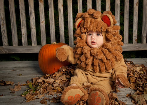 Little Lion Baby Halloween Costume  sc 1 st  Honey + Lime & Little Lion Baby Halloween Costume - Honey + Lime