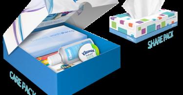 Kleenex Softness Worth Sharing Care Pack