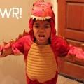 Rawr! MJ in Red Dragon Costume