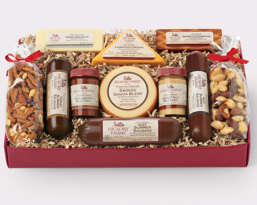 Hickory Farms Sausage and Cheese Gift Box