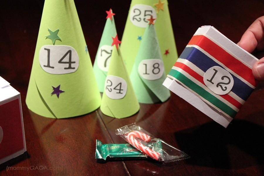 Advent Calendar Village Diy : Countdown to christmas diy paper advent