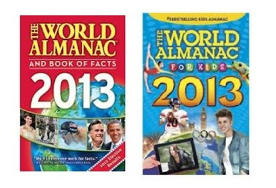 2013 World Almanac and Almanac for Kids