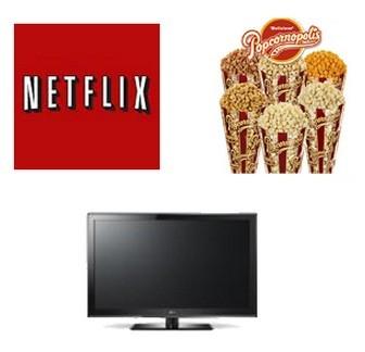 Netflix, LG and Popcornnopolis Giveaway