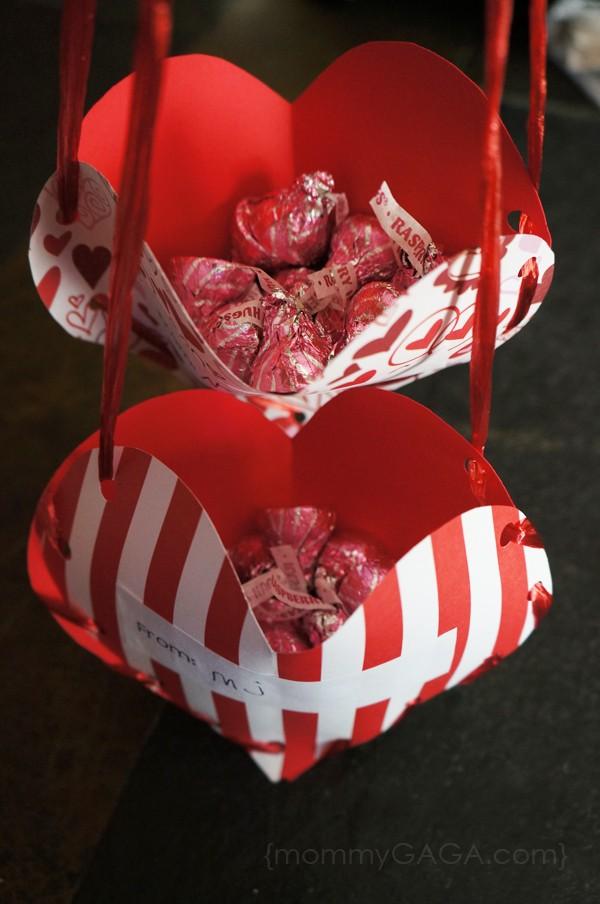 valentines day treat pockets a fun homemade valentines craft for kids - Valentines Day Craft For Kids