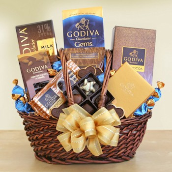 Godiva Greats Chocolate Gift Basket