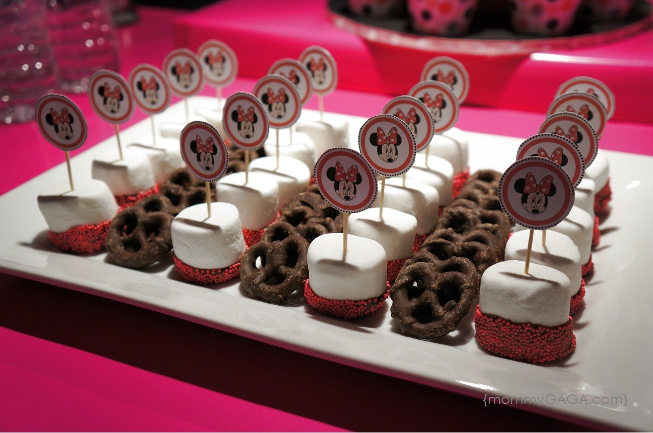 Minnie Mouse Birthday Party Baby Girl Turned 2 Honey Lime