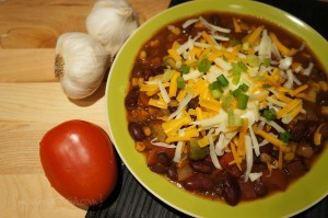 Southwestern Black Bean Chili Recipe