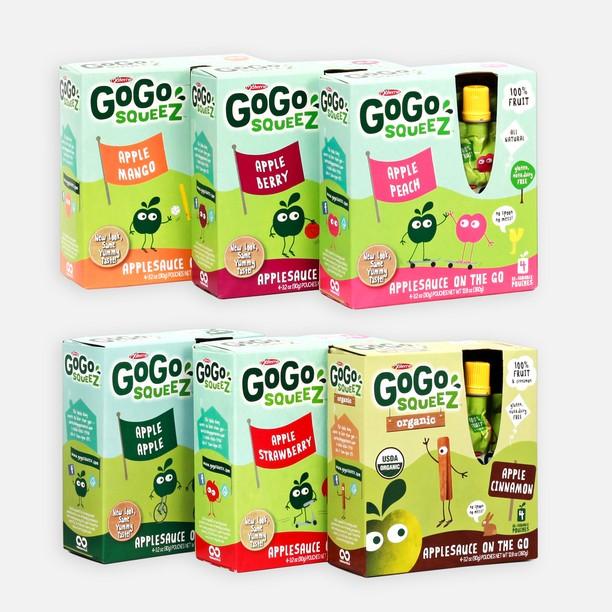 GoGo SqueeZ Varieties