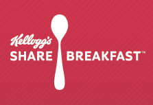 Share Breakfast with Kelloggs