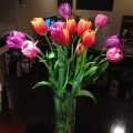 Spring Tulips Flower Bouquet