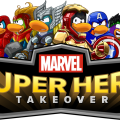 Disney's Club Penguin Marvel Takeover