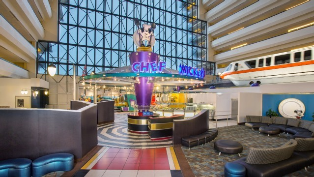 Disney Contemporary Resort Game Room