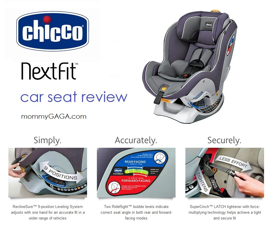 Chicco NextFit Car Seat Review MommyGAGA