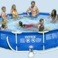 Intex 12x30 metal swimming pool