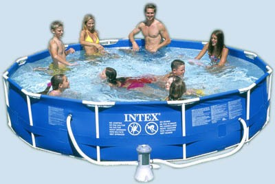 Summer Ready Intex Family Swimming Pool Giveaway Honey Lime