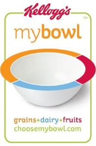 Kelloggs My Bowl, balanced nutrition