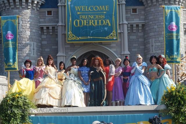 All Disney Princesses, Merida inducted into Princess Royal  Court
